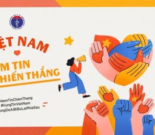 Vì một Việt Nam khoẻ mạnh - Kết sức mạnh - Vững niềm tin