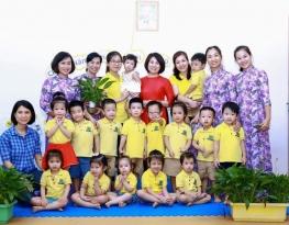 Các bé trường MN Tuổi Thần Tiên bắt đầu tựu trường, chuẩn bị chào đón năm học mới 2020 - 2021