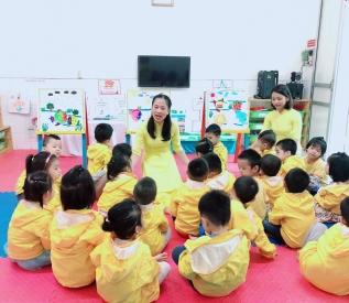 Mục tiêu giáo dục các độ tuổi mẫu giáo bé (3 - 4 tuổi) năm học 2019 - 2020