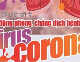 Cẩm nang 10 câu hỏi đáp để chủ động phòng chống dịch bệnh viêm đường hô hấp cấp do virus Corona mới.